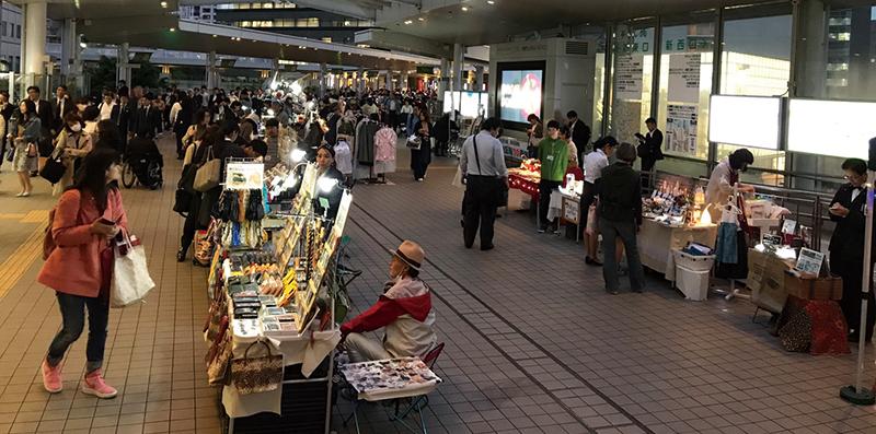 >イベント6:大崎駅前マルシェ