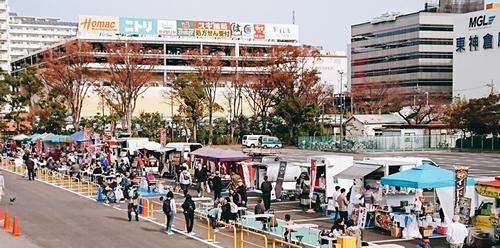 >イベント8:大井競馬場 フリマ